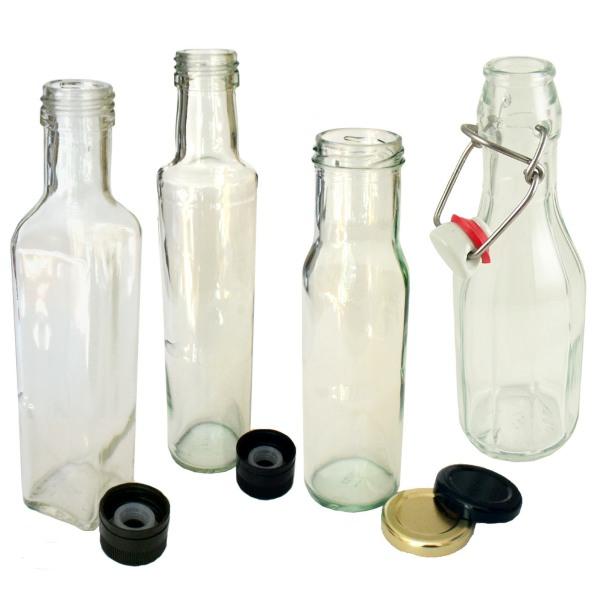 Love Jars Glass Bottles