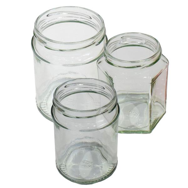 Love Jars Glass Jam Jars