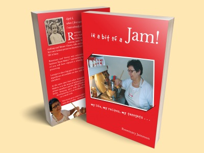 Love jam jars | Books & Publications Rosie's Recipe books and more