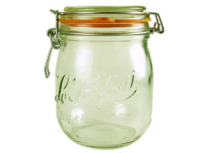 Love jam jars | Le Parfait Jars Not just a clip top storage jar - the superior heavy weight preserving jar for pressure canning
