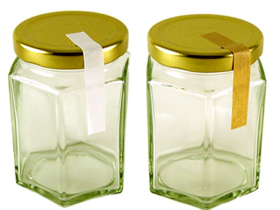 Love jam jars | Tamper Seals our popular tamper evident sealing strips