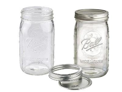 Ball Mason Preserving Jars