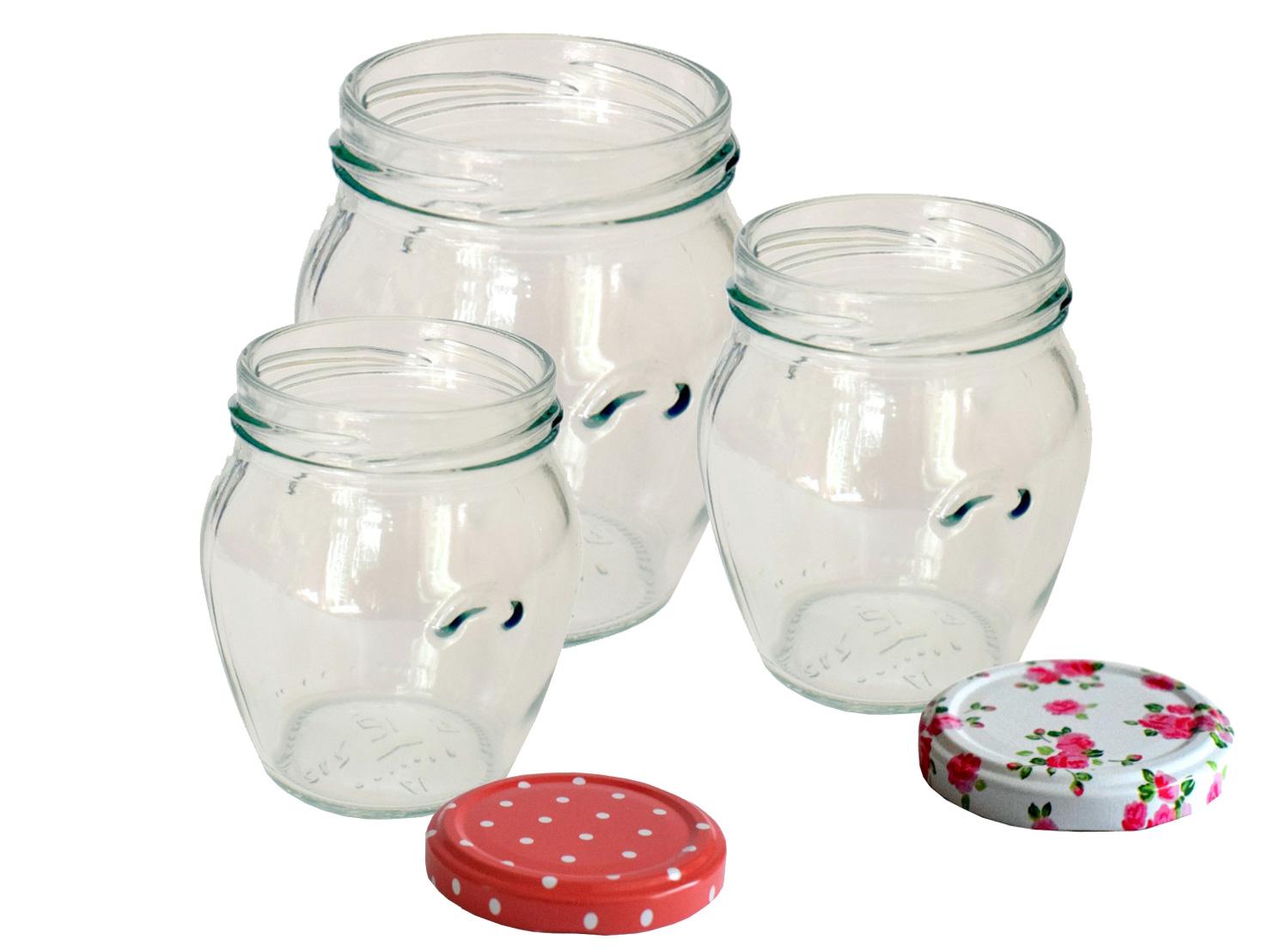 Orcio Jam Jars