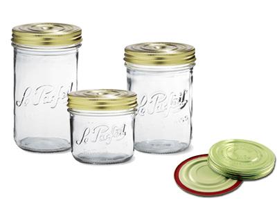 Le Parfait Terrine Screw Top Jars