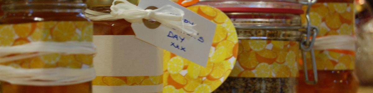 Rosie's Pantry: Jar Wraps