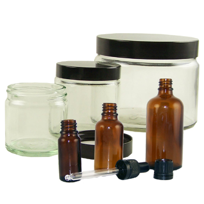 Love jam jars | Non-Food Glassware Non-Food glass for cosmetics, ointments, aromatheraphy etc