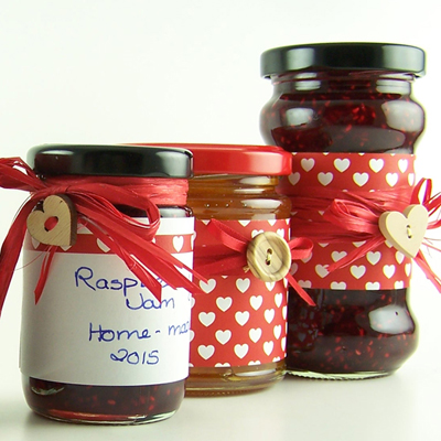 Love jam jars | Rosie's Collections Rosie's Pantry is full of ideas to decorate your jars. Be inspired by the co-ordinated ranges.