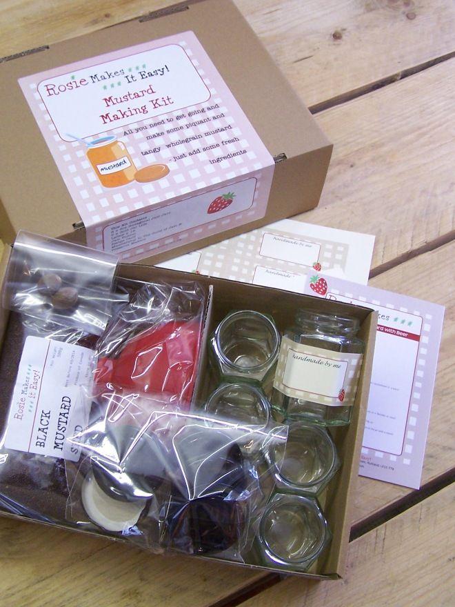 Preserve Maker's Gift Box Mustard
