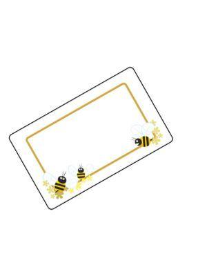 Love jam jars | A Honey Bees jar label