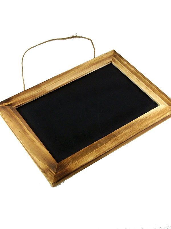Blackboard Wooden Framed 10x7'