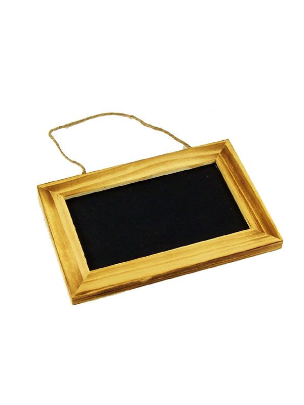 Blackboard Wooden Framed 6x4'