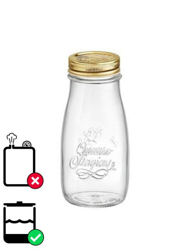 Quattro Stagioni Bottle 200ml with Screw Top Lid x12