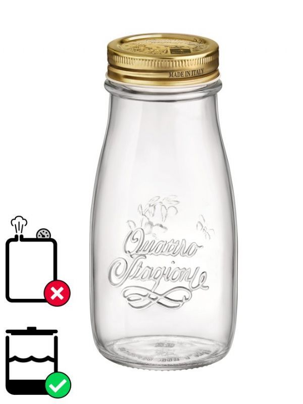 Quattro Stagioni Bottle 400ml with Screw Top Lid x12