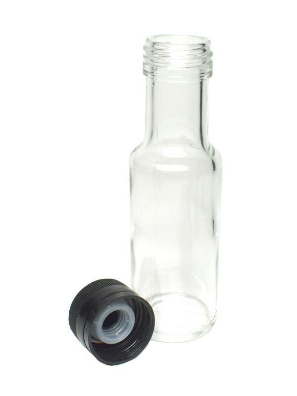 Round Glass Bottle Dorica 100ml 2
