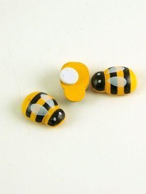 Love jam jars | - Honey bee button