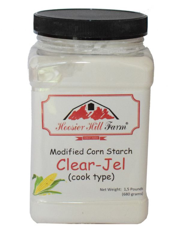 Clear Jel Modified Corn Starch 1.5lb (680g)