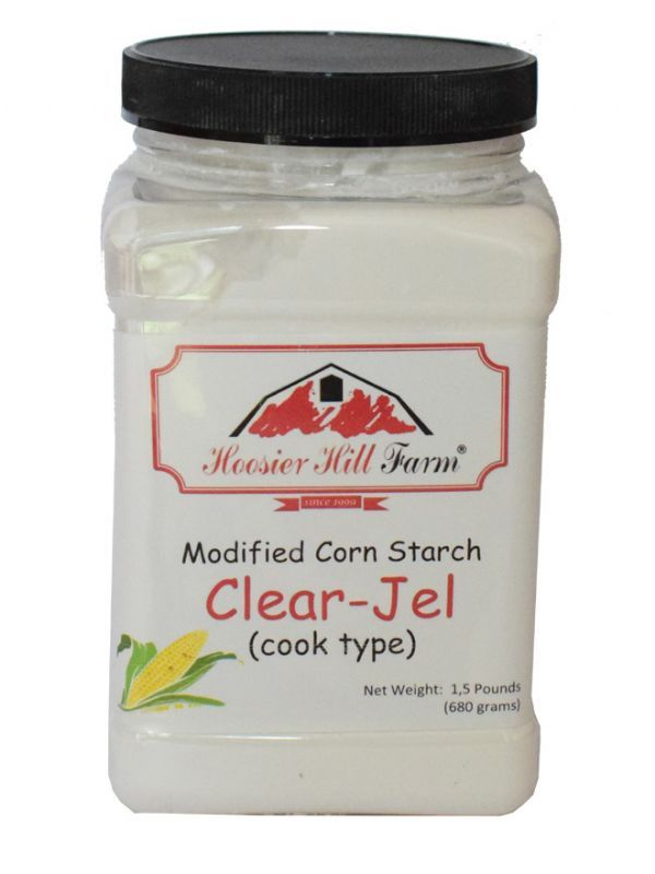 Clear Jel Modified Corn Starch 1.5lb (680g) 1
