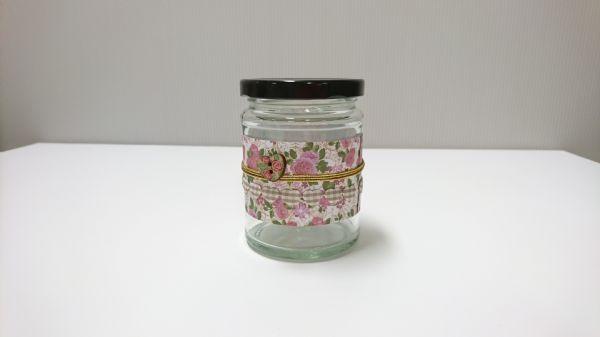 Jar Wraps - Summer Frocks Large Sprig 3