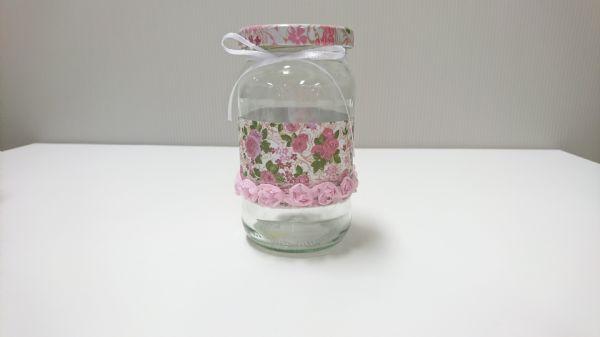 Jar Wraps - Summer Frocks Large Sprig 4