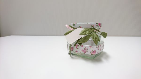 Jar Wraps - Summer Frocks Small Sprig 6