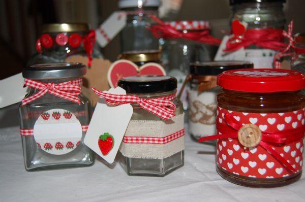 Jar Wraps - Plain Linen 50cm 2