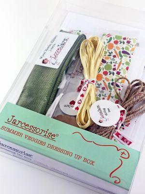 Love jam jars | - Summer Veggies Dressing Up Box