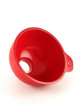 Love jam jars | Jam Jar Funnel Red Silicone