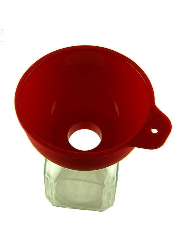 Jam Jar Funnel Red Silicone 2
