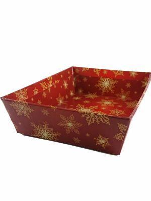 Love jam jars | Gift Tray Gold Snowflake 8x6'