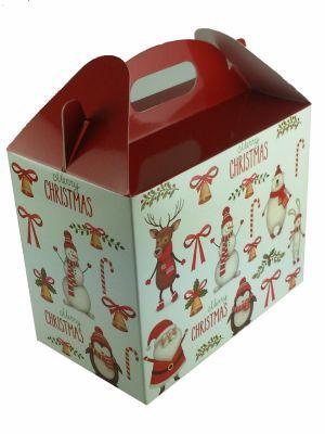 Love jam jars | Carry Box 2 x 12oz jars Merry Christmas (5) Pack 5