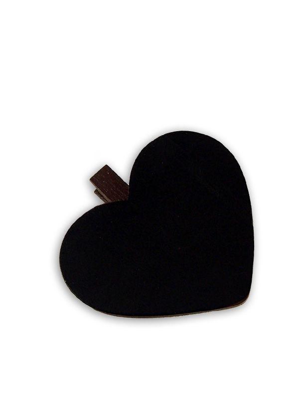 Blackboard Heart Peg 1
