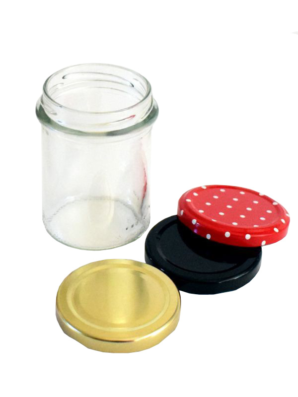 Jam Jars Round Glass Bonta 212ml