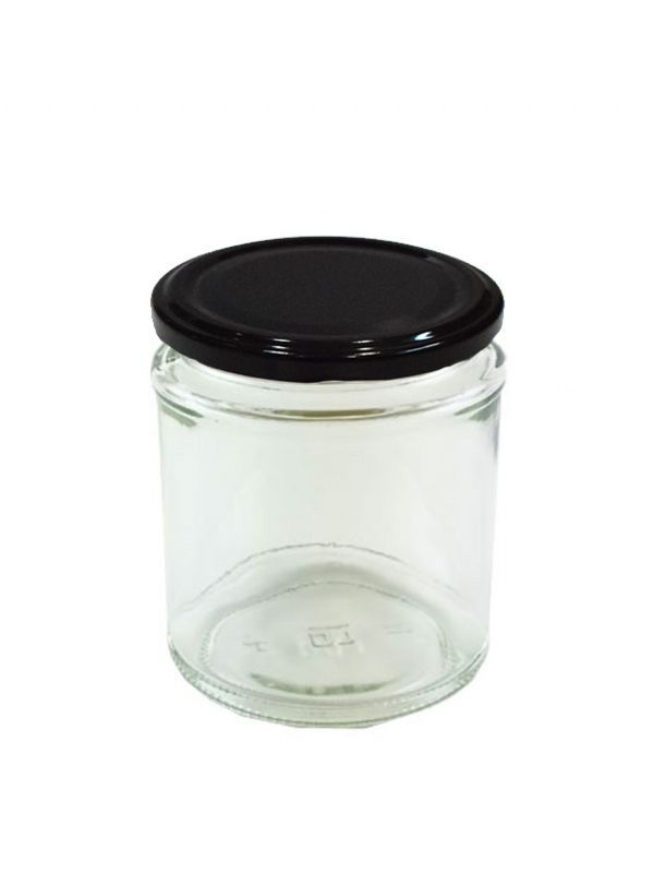 Jam Jars Round Glass 190ml 6