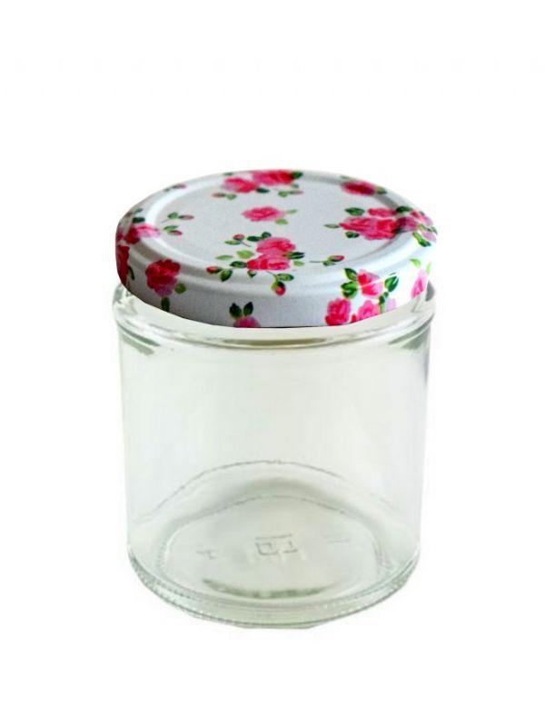 Jam Jars Round Glass 190ml 5