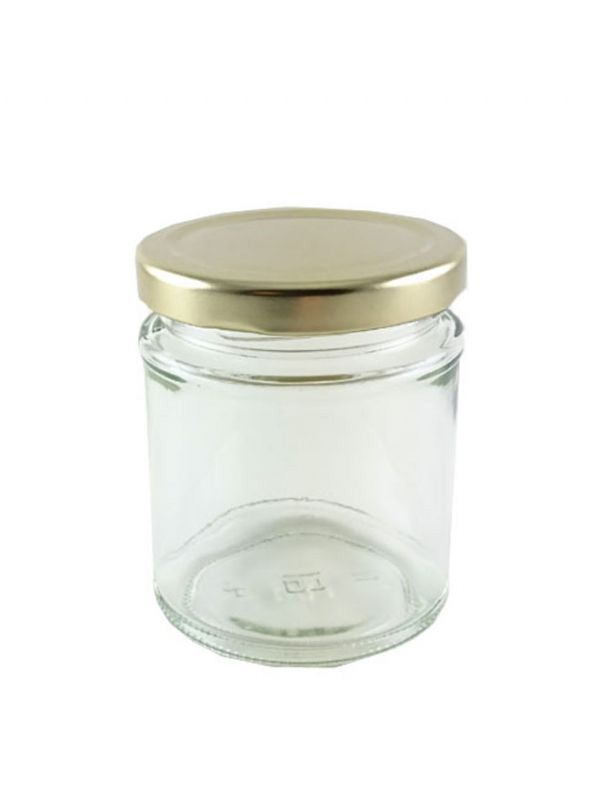 Jam Jars Round Glass 190ml 7