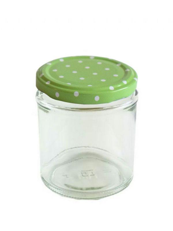 Jam Jars Round Glass 190ml 4