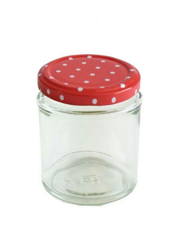 Jam Jars Round Glass 190ml 3