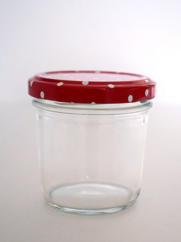 Jam Jars Round Glass Bonta 120ml 5