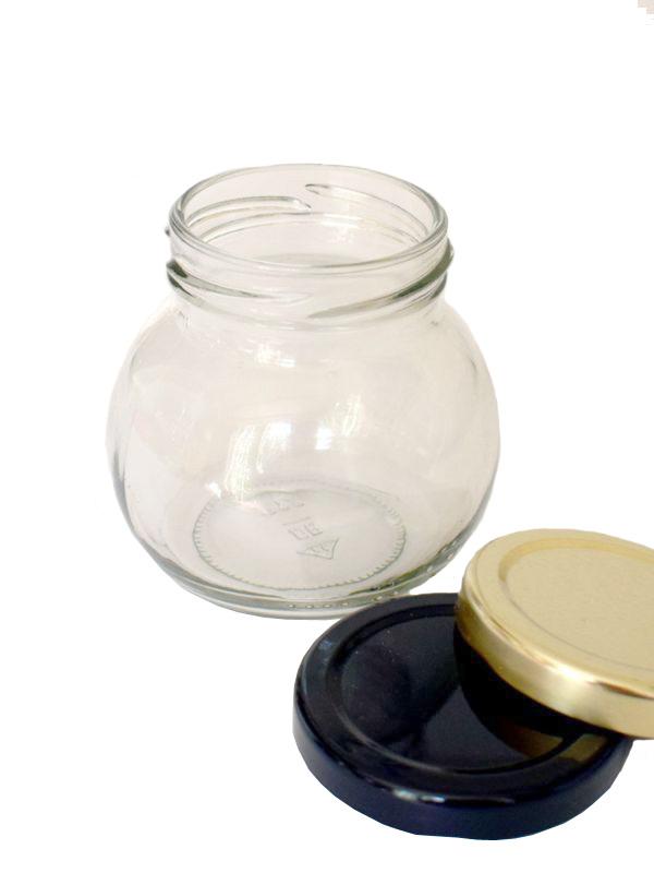 Jam Jars Globe Glass 212ml 1