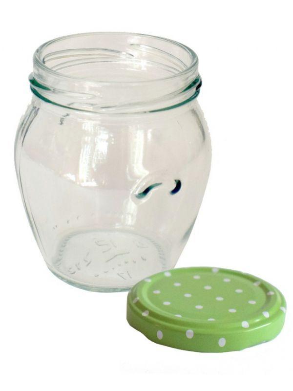 Jam Jars Orcio Glass 212ml 2