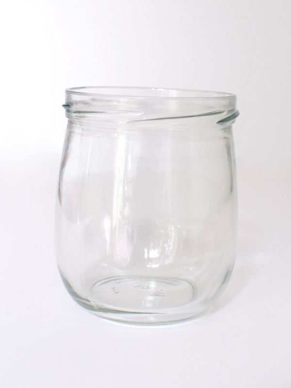 Jam Jars Round Pera Glass 425ml 2