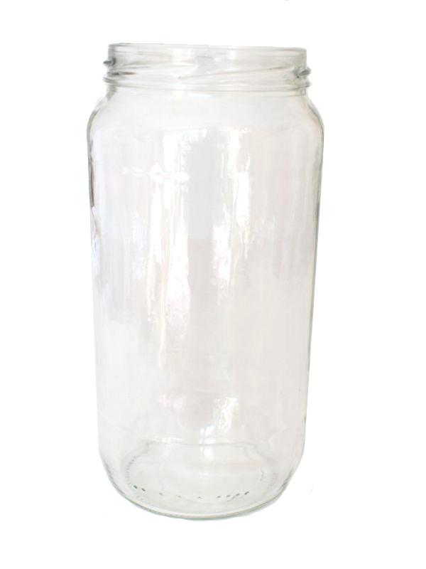 Jam Jars Round Glass 1062ml 2