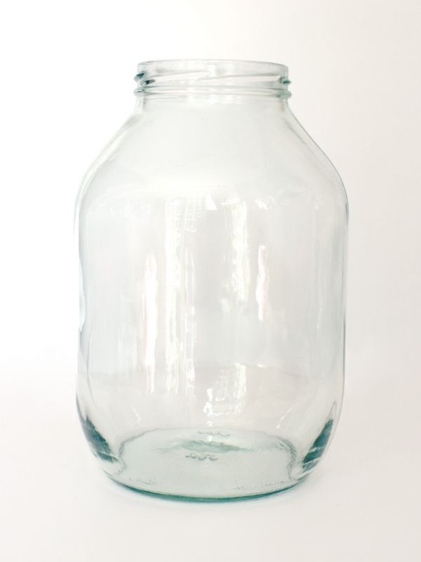 Jar Round Glass Half Gallon 2200ml 2