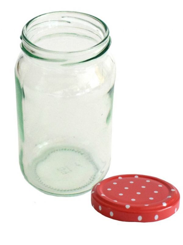 Jam Jars Round Glass 370ml 1lb 3