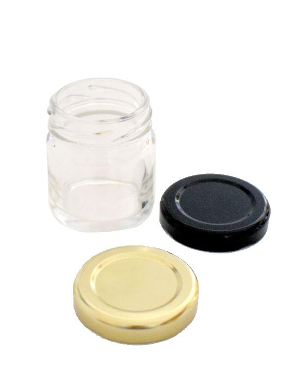 Jam Jars Round Glass 41ml