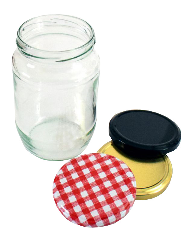 Jam Jars Round Glass 740ml/2lb 1
