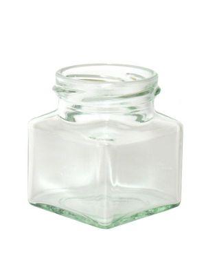 Jam Jars Square Glass 130ml