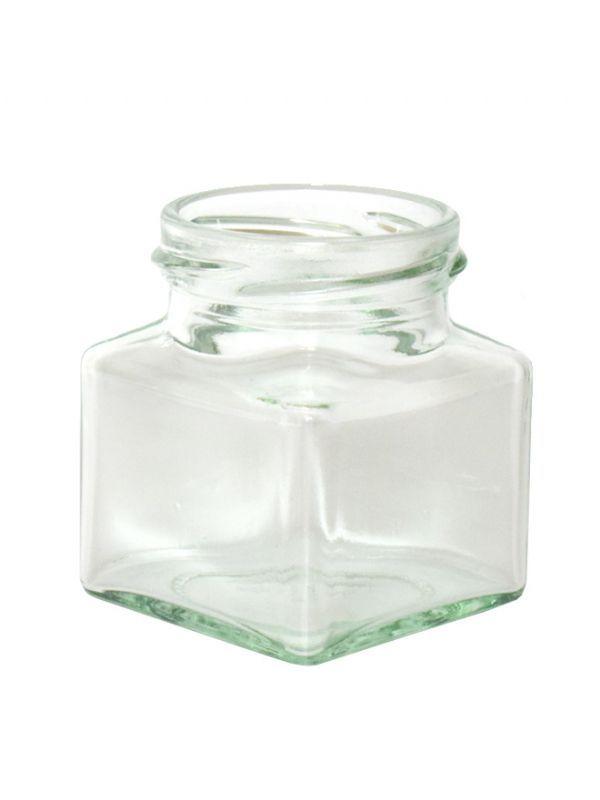 Jam Jars Square Glass 130ml 1