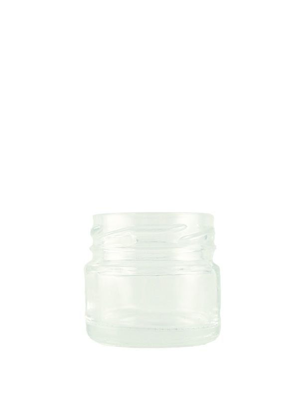 Jam Jars Round Glass 28ml (x6000)