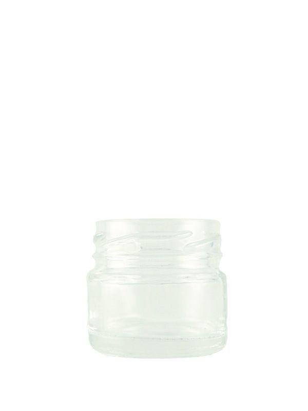 Jam Jars Round Glass 28ml 1